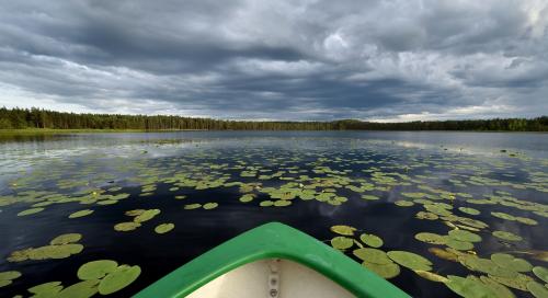 Paadiga järvel